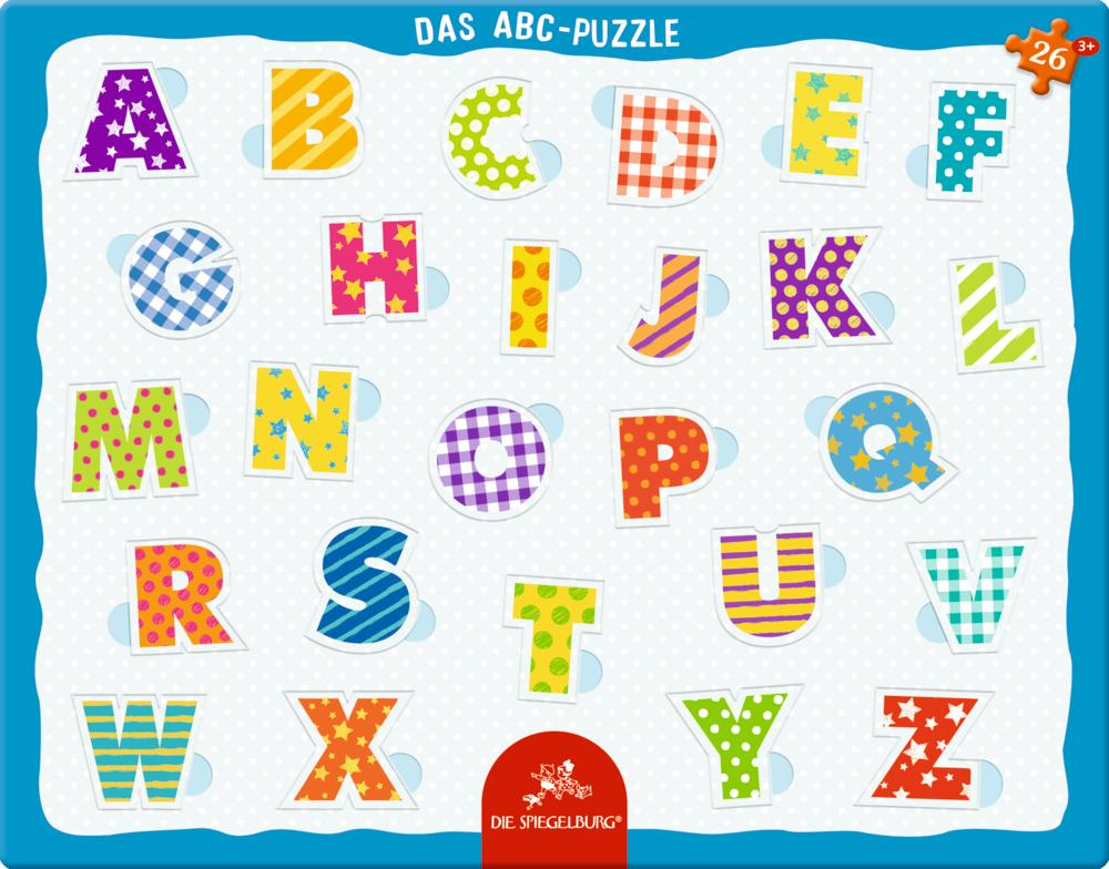 Puzzle con marco - ABC - Tienda Lilifee